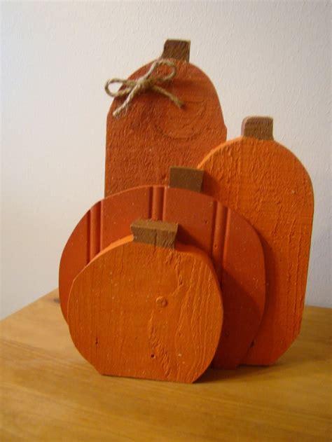 wooden pumpkins images  pinterest fall wood