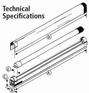 Slimlite T5 Fluorescent Tubular Lights