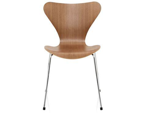 series 7 side chair wood veneer hivemodern