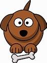 OnlineLabels Clip Art - Cartoon Dog