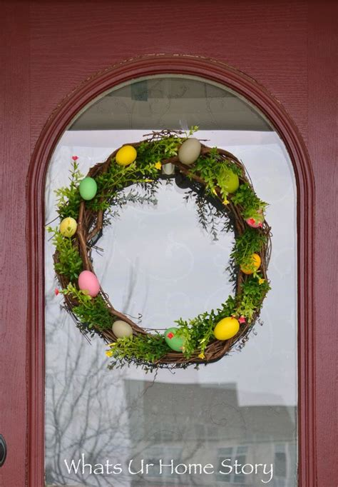 gorgeous spring wreaths     neighbors