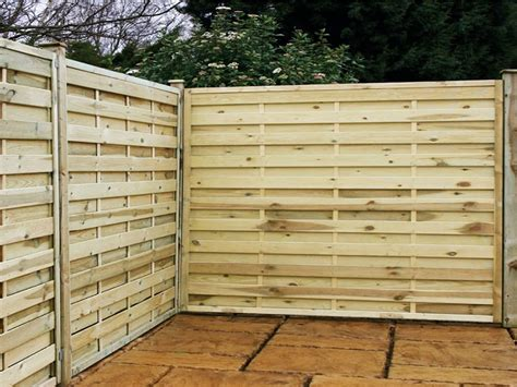 horizontal wood fence panels wood fence designs wood fence post home design