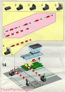 Lego 4532 Manual Level Crossing Set Parts Inventory And