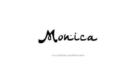monica  tattoo designs