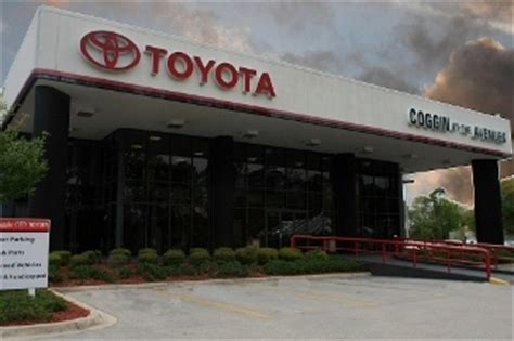 Toyota At The Avenues by Coggin Toyota At The Avenues In Jacksonville Fl 32256