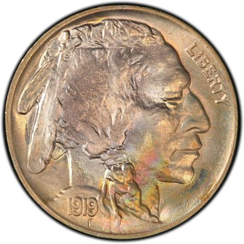nickel values 1919 buffalo nickel values and prices past sales coinvalues com
