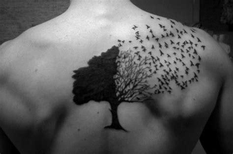 47 Busch Und Belaubte Bäume Tattoos