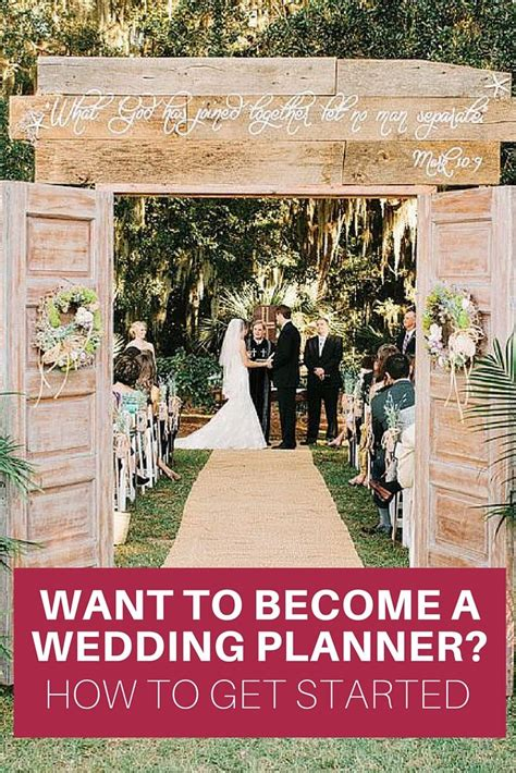 the main idea that you should know before you want to become a wedding planner is that you