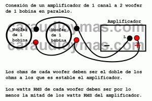 conectar 2 subwoofer a un lificador car audio instalaci 243 n