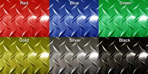 Metallic Diamond Plate Runner Mats are Runner Mats by