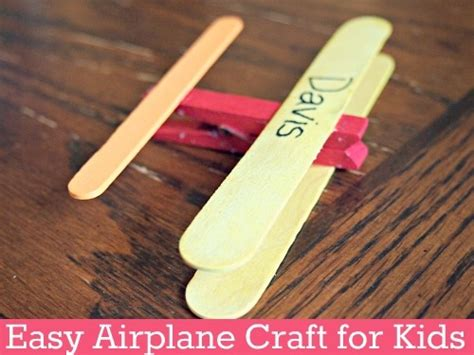 and crafts ideas for boys easy airplane craft for icraftgifts