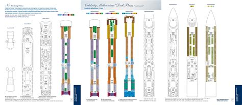 Millennium Deck 6 Plan by Millennium Cruisetour