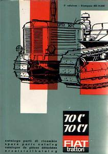 Fiat Crawler Tractor 70c  U0026 70 Ci Parts Manual