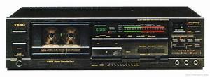 Teac V-850x - Manual - Stereo Cassette Deck