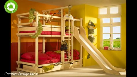 Cool Bunk Beds Ideas With Slide For Kids