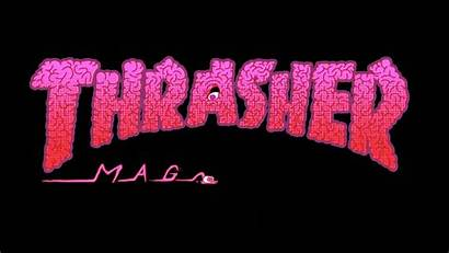 Thrasher Magazine Wallpapers Background Backgrounds Baddie Computer
