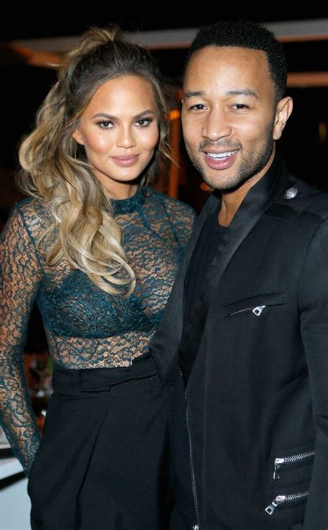Chrissy Teigen Steps Out in a See-Through Top With Khloe ...