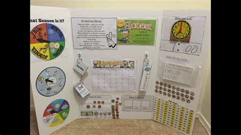 circle time learning board prek