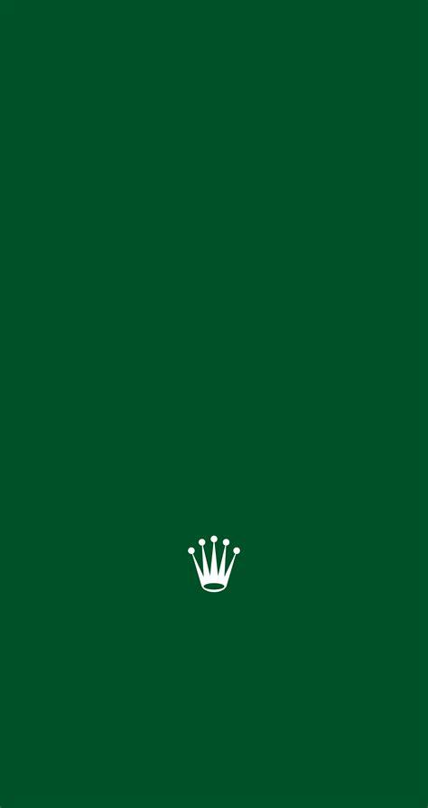 rolex logo wallpaper iphone in classic rolex green for home screen rolex iphone 6