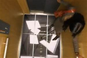 lg elevator floor prank leaves people terrifed younilife With elevator floor prank