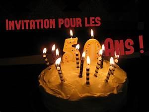 Faire Part Anniversaire 50 Ans : vos textes pour invitation anniversaire 50 ans ~ Edinachiropracticcenter.com Idées de Décoration