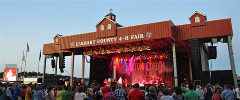 Stage  Elkhart County 4h Fair