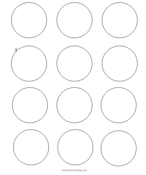 Best Photos Of Printable 1 2 Inch Circle Template 1 Inch Small Circle Coloring Page Coloring Page