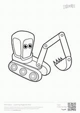 Coloring Excavator Digger Construction Printables Printable Excavators Colouring Toddlers Popular Boys Ford Games Coloringhome sketch template
