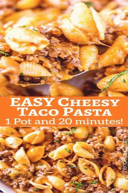 Taco Hamburger Helper Cheesy Recipes Pasta Casserole