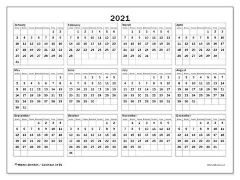 annual calendars ss michel zbinden en