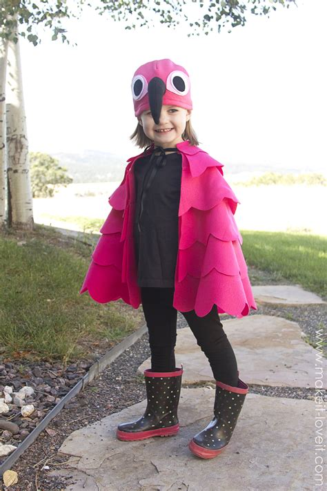 with elli do it simple flamingo costume for any age make it and it Diy