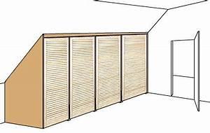 Schiebetür Dachschräge Selbst Bauen : einbauschrank selbst bauen schrank pinterest schr nke f r dachschr gen dachschr ge und ~ Watch28wear.com Haus und Dekorationen