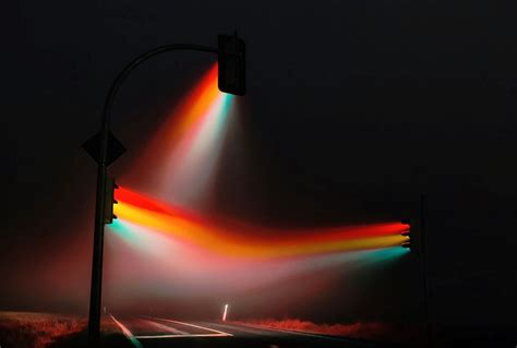 amazing road signal led light display art xcitefunnet