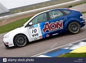Tom Chilton In The 2009 Btcc Ford Focus St During Testing
