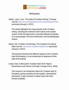 how to annotated bibliography turabian With turabian template for word