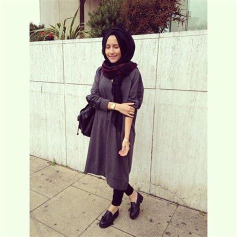 minimal hijab ootd  heart      muslim style pinterest ootd   heart