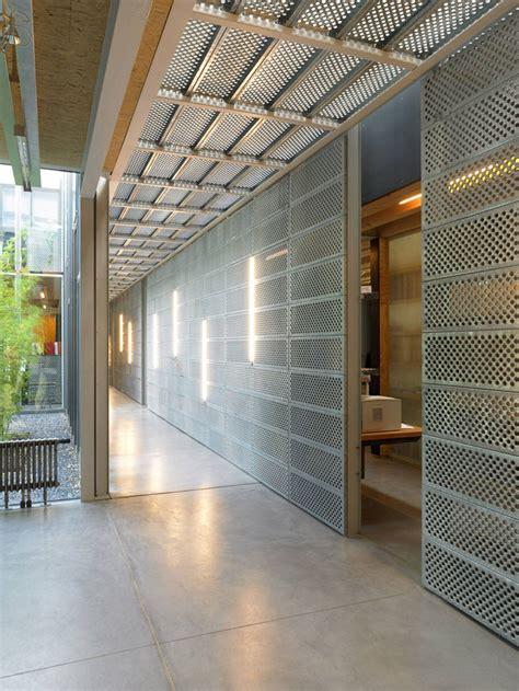 gallery  bureau newteam steinmetzdemeyer  perforated metal panel perforated metal