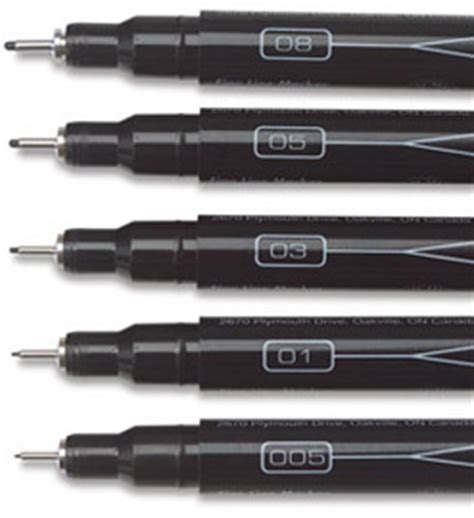 drawing pens  artists pens  creating