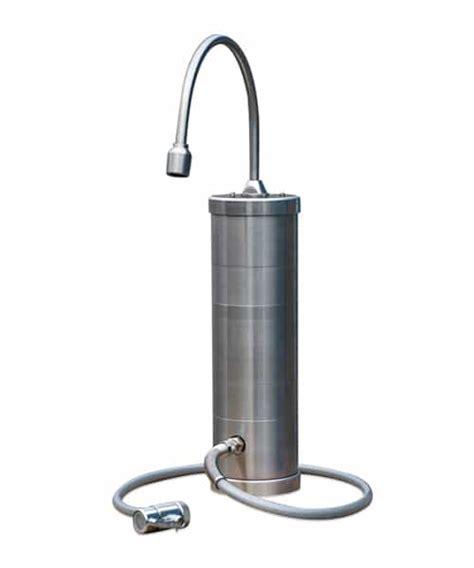 Carbonit Sanumo Inoxf Auftischwasserfilter Vitalwatershop