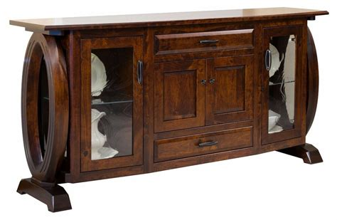 Amish Sideboard by Large Amish Modern Sideboard Dining Room Server Solid Wood