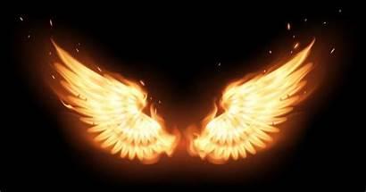 Wings Fire Phoenix Flame Angel Drawing Angels