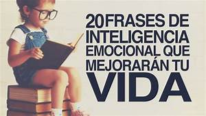20 Frases De Inteligencia Emocional Que Mejorar U00e1n Tu Vida