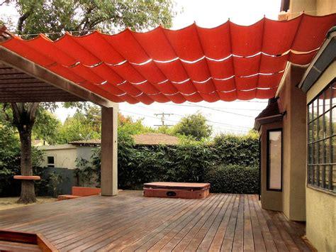 clever diy ways  create backyard shade backyard shade patio shade patio canopy