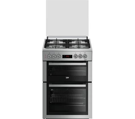 buy beko pro xddfs  cm dual fuel cooker silver