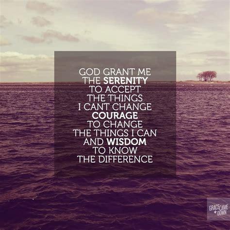 god grant   serenity  accept