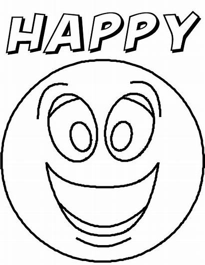 Coloring Pages Feelings Printable Emotion Feeling Emotions
