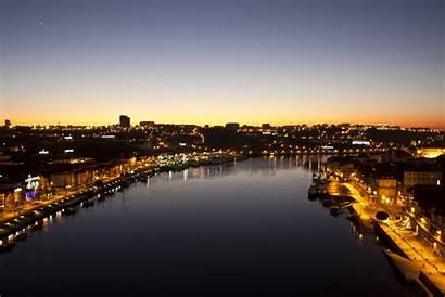 Porto Aerial Wallpapers Douro Buildings Between Water