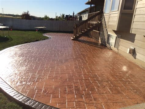 Cement Patio by Patio Designs Pool Remodeling Wichita Sted Concrete