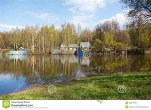 Wasser Entkalken Haus : russische l ndliche landschaft haus auf dem wasser ~ Lizthompson.info Haus und Dekorationen