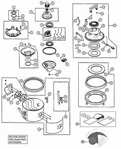 Filter Queen Canister Vacuum Model 112 Parts